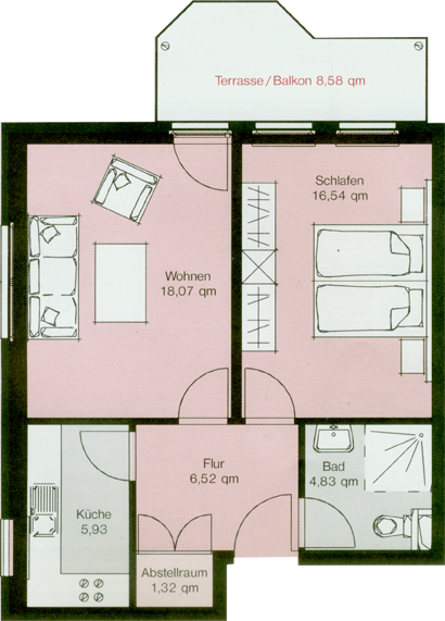 Die Wohnungen Heidberg Domizil